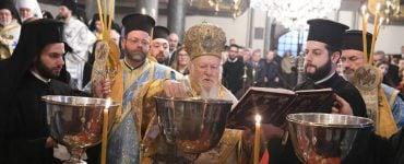 Με μεγαλοπρέπεια ο εορτασμός των Θεοφανείων στο Φανάρι (ΦΩΤΟ)