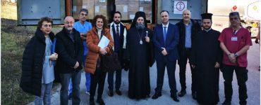 Δωρεά υγειονομικού υλικού στο Πανεπιστημιακό Νοσοκομείο Ιωαννίνων