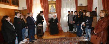 Εκατό μαθητές γυμνασίου στον Αρχιεπίσκοπο