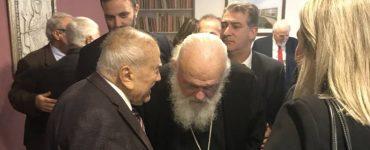 Αρχιεπίσκοπος: Οι θησαυροί μας χρειάζονται προσοχή και σεβασμό στην διάσωσή τους