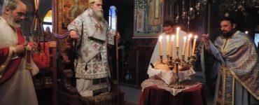 Εορτή Αγίου Θεοκλήτου στην Μονή Ροβελίστης Άρτης
