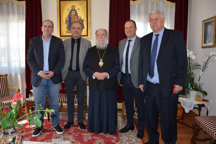 Συνάντηση του Υφυπουργού Μακεδονίας – Θράκης με τον Μητροπολίτη Ελευθερουπόλεως