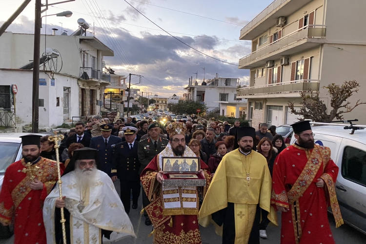Κορυφώθηκαν οι λατρευτικές εκδηλώσεις για τον Άγιο Χαράλαμπο στα Λενταριανά