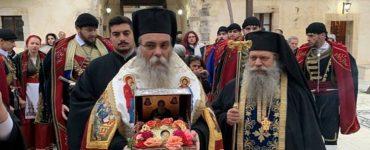 Η Κρήτη υποδέχτηκε την Κάρα του Οσίου Δαβίδ