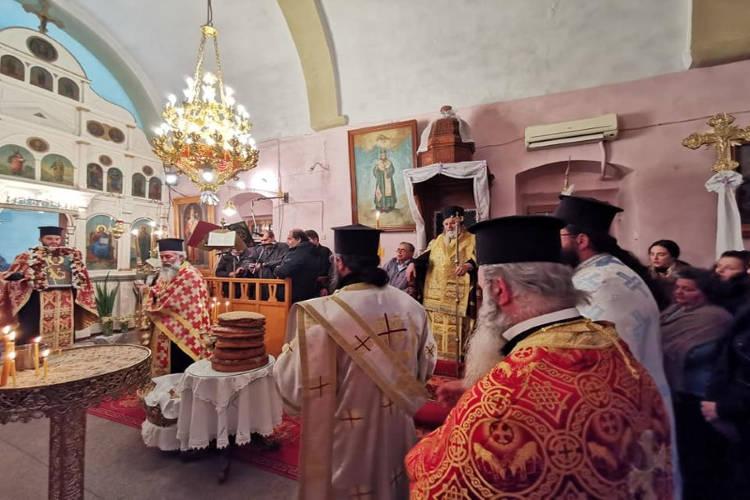 Εορτή Αγίου Θεοδώρου του Στρατηλάτου στη Μητρόπολη Λέρου
