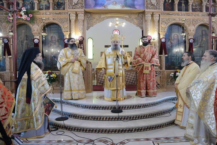 Εορτή Αγίου Χαραλάμπους στη Μητρόπολη Πατρών