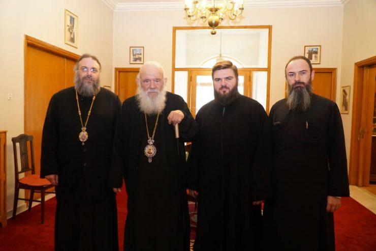 Επίσκεψη Αρχιεπισκόπου Αθηνών στη Μητρόπολη Τρίκκης