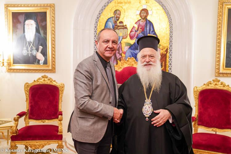Ο Υφυπουργός Μακεδονίας-Θράκης στον Μητροπολίτη Βεροίας (ΦΩΤΟ)