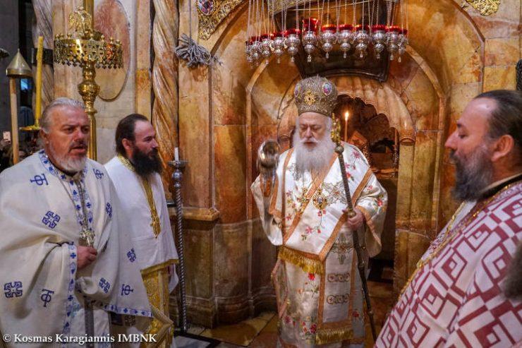 Ο Μητροπολίτης Βεροίας στους Αγίους Τόπους (ΦΩΤΟ)