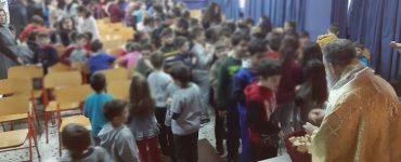 Αρχιερατική Θεία Λειτουργία στο 6ο Δημοτικό Σχολείο Χαλκίδος