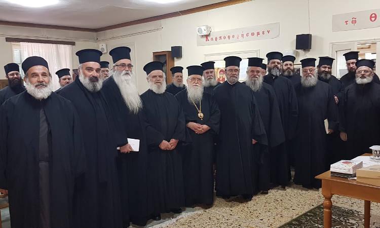 Αντιπροσωπεία του ΙΣΚΕ στις Ιερές Μητροπόλεις Κερκύρας και Κονίτσης