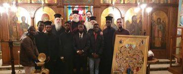 Εορτή Αγίου Θεοδώρου του Στρατηλάτου στο Πατριαρχείο Αλεξανδρείας