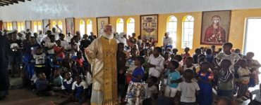 Ο Πατριάρχης Αλεξανδρείας εόρτασε με τα «Παιδιά των σκουπιδιών»