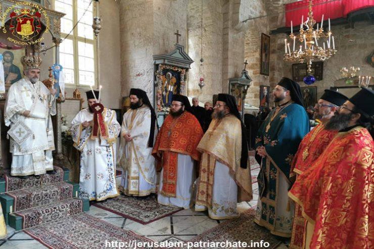 Εορτή του Αγίου Χαραλάμπους στο Πατριαρχείο Ιεροσολύμων
