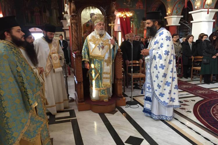 Εορτή της Υπαπαντής στη Μονή Παναγίας Κουτσουριώτισσας