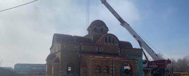 Ο Ναός του Αγίου Παϊσίου στα Ιωάννινα παίρνει την τελική του μορφή