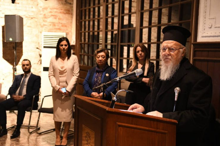 Οικουμενικός Πατριάρχης: Όλοι σας δύνασθε και οφείλετε να συμβάλετε από κοινού εις την πορείαν της Ομογενείας προς το μέλλον (ΦΩΤΟ)