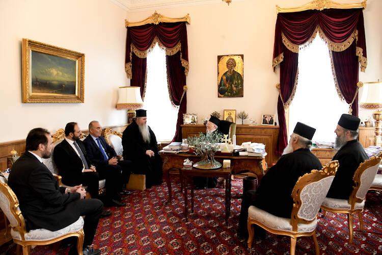 Ο Μητροπολίτης Καλαμαριάς Ιουστίνος στο Οικουμενικό Πατριαρχείο (ΦΩΤΟ)