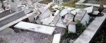 Αγρίνιο: Βανδάλισαν τάφους στο νεκροταφείο Καμαρούλας