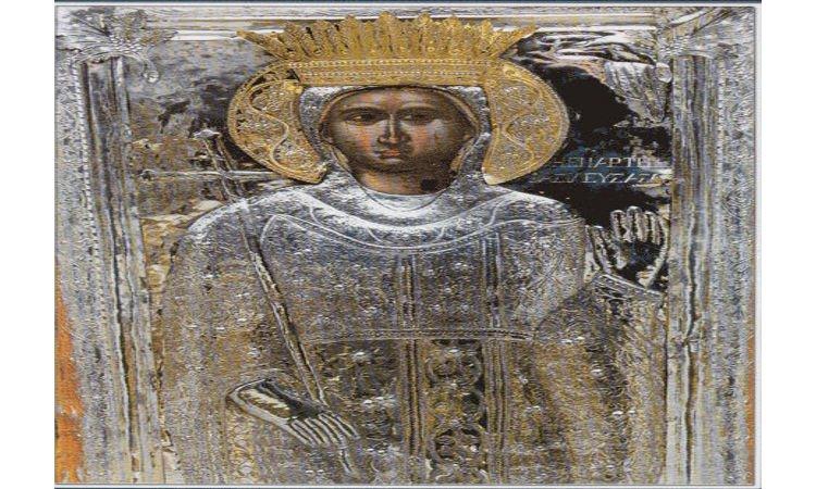Η Άρτα γιορτάζει την Πολιούχο της Αγία Θεοδώρα Γιορτή Αγίας Θεοδώρας της Βασίλισσας της Άρτας