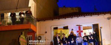 Κάτοικοι του Ναυπλίου έψαλλαν το «Υπερμάχω Στρατηγώ» στο μπαλκόνι τους