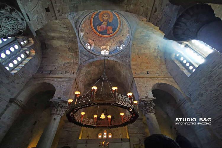 100 χρόνια από την εύρεση της θαυματουργής εικόνας του Φανερωμένου Χριστού στην Αγία Μονή Ναυπλίου (ΦΩΤΟ)