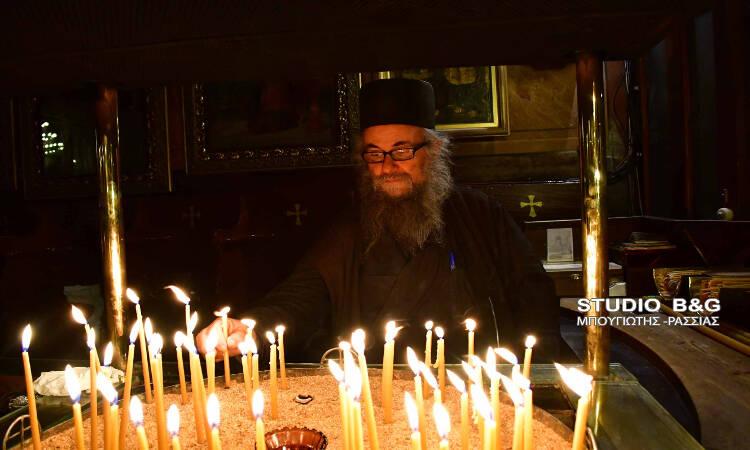 Οι Β´ Χαιρετισμοί της Παναγίας στο Ναύπλιο (ΦΩΤΟ)