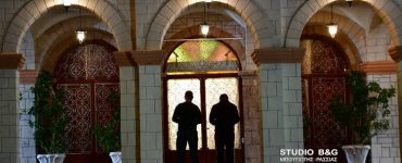 Η Εορτή του Ευαγγελισμού χωρίς πιστούς στο Ναύπλιο (ΦΩΤΟ)