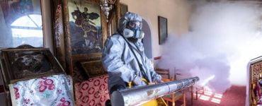 Απολύμανση σε όλους τους Ιερούς Ναούς του Δήμου Νεάπολης-Συκεών
