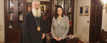Επίσκεψη της Υπουργού Παιδείας στην Αλεξανδρούπολη