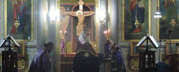 Πρώτη Προηγιασμένη Θεία Λειτουργία στην Άρτα