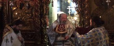 Η Εορτή του Ευαγγελισμού στη Μονή Εικοσιφοινίσσης