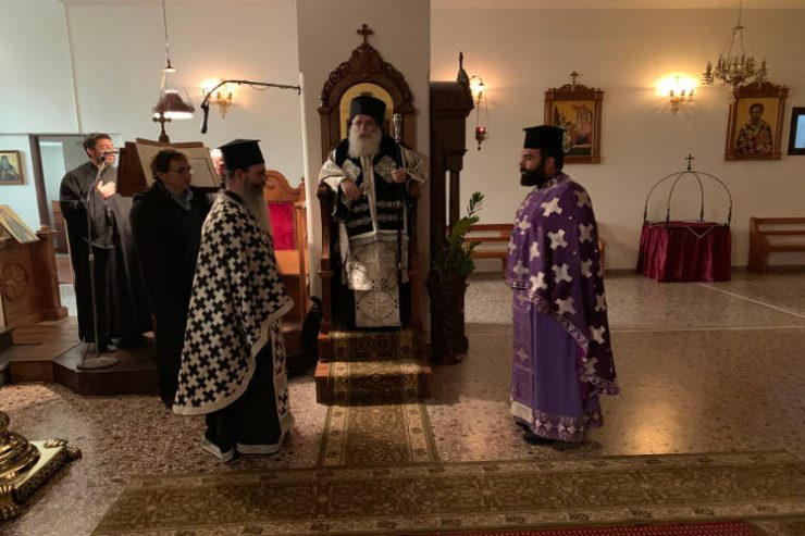 Πρώτη Προηγιασμένη Θεία Λειτουργία στην Ιεράπετρα