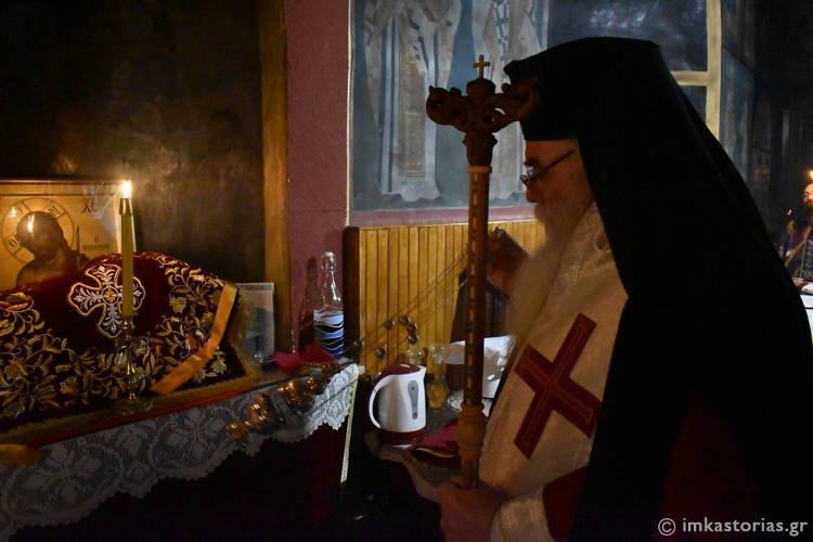 Λειτουργική περιοδεία Β' Εβδομάδας Νηστειών στην Καστοριά (ΦΩΤΟ)
