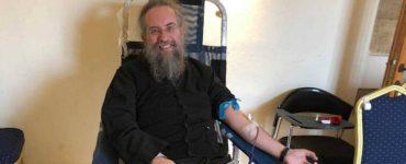 Αιμοδοσία από τη Μητρόπολη Κερκύρας