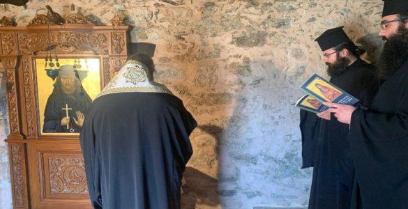 Παράκληση στο σπίτι του Οσίου Νικηφόρου του Λεπρού