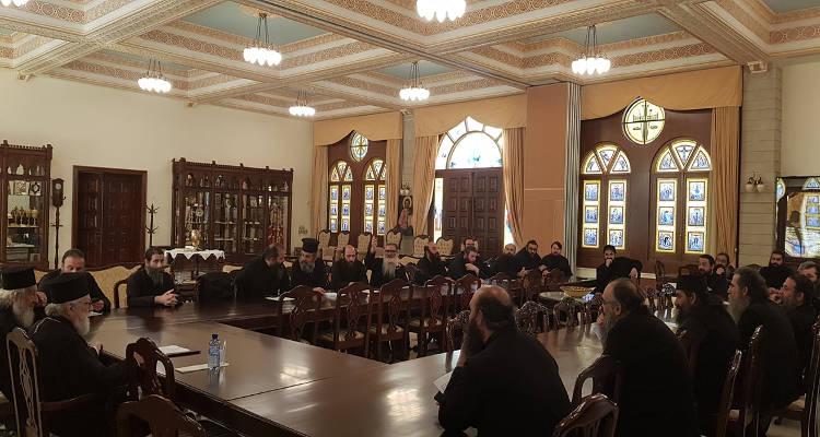 Έκτακτη Ιερατική Σύναξη για τον κορονωϊό στη Μητρόπολη Κωνσταντίας