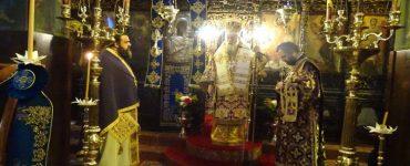 Εορτή Αγίου Σωφρονίου Πατριάρχου Ιεροσολύμων στη Μητρόπολη Κορίνθου