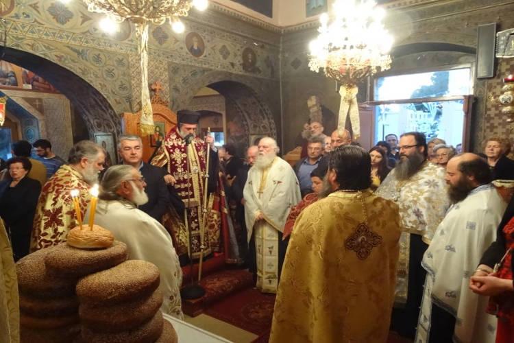 Εορτή Αγίων Τεσσαράκοντα Μαρτύρων στη Λέρο