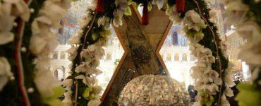 Αδιάλειπτος προσευχή μπροστά στην Κάρα του Αποστόλου Ανδρέου