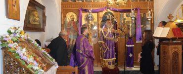 Προηγιασμένη Θεία Λειτουργία στην Κύθνο