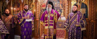 Πρώτη Προηγιασμένη Θεία Λειτουργία στη Μονή Παναγίας Δοβρά Βεροίας (ΦΩΤΟ)