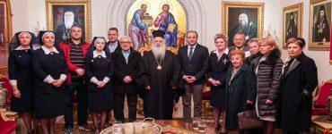 Συνάντηση του Μητροπολίτου Βεροίας με φορείς υγείας ενόψει του κορονοϊού