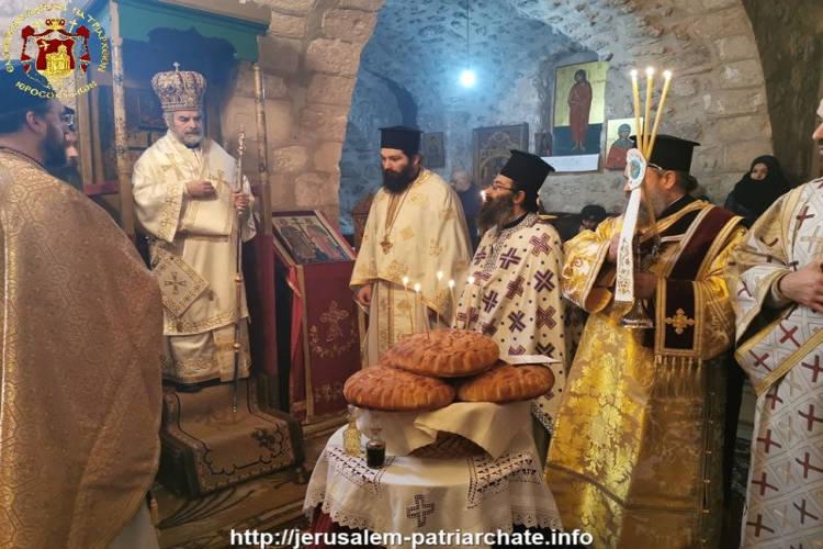 Η Εορτή του Θαύματος των Κολλύβων στο Πατριαρχείο Ιεροσολύμων