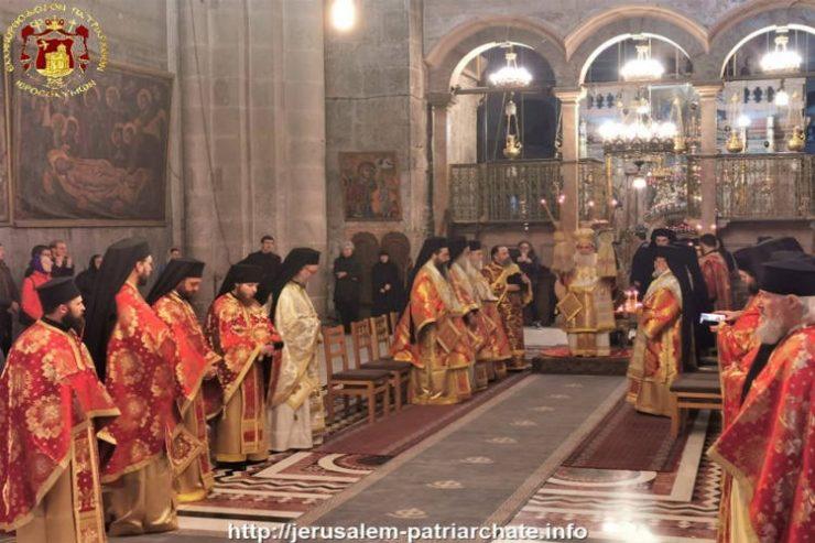 Η Κυριακή της Ορθοδοξίας στο Πατριαρχείο Ιεροσολύμων