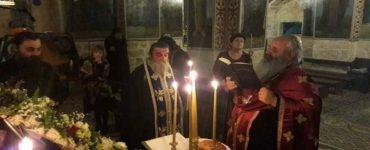 Εορτής Αγίου Γερασίμου Ιορδανίτου στο Πατριαρχείο Ιεροσολύμων