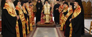 Πατριάρχης Ιεροσολύμων: Ζήτω η 25η Μαρτίου 1821