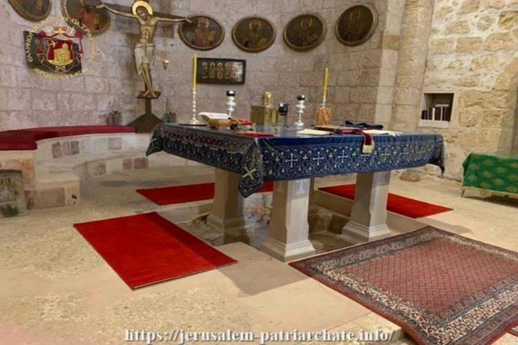 Η Εορτή της Σταυροπροσκυνήσεως στη Μονή Τιμίου Σταυρού στη Δυτική Ιερουσαλήμ