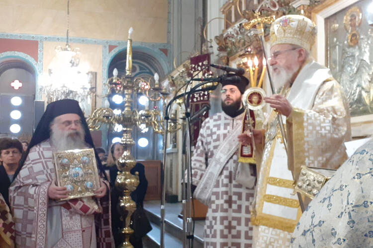 Αιτωλίας Κοσμάς: Η Ορθόδοξος Εκκλησία μας ως αληθινή που είναι δεν φοβάται (ΦΩΤΟ)