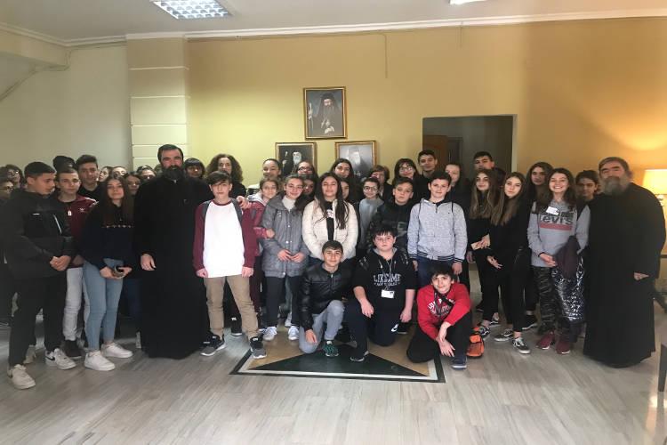 Μαθητές από το Ωραιόκαστρο Θεσσαλονίκης στις φιλανθρωπικές δομές της Μητροπόλεως Κίτρους